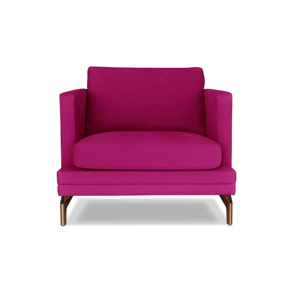 Růžové křeslo Windsor & Co. Sofas Jupiter