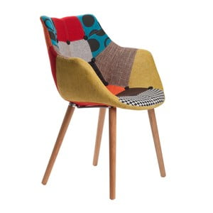 Židle Eleven Patchwork Beech
