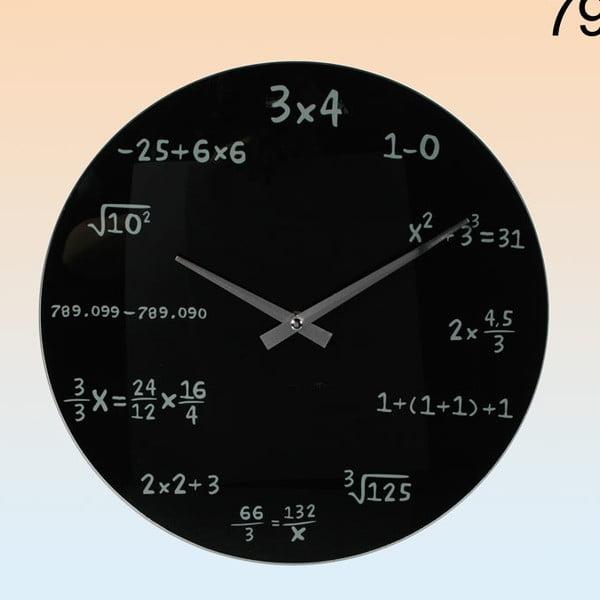 Nástěnné hodiny Maths