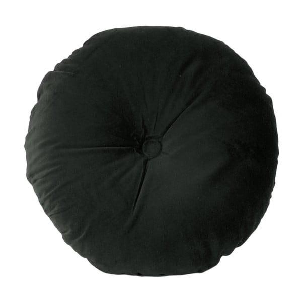 Černý bavlněný polštář PT LIVING, ⌀45cm