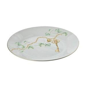 Modrý porcelánový talíř Vassoio, Ø 30cm