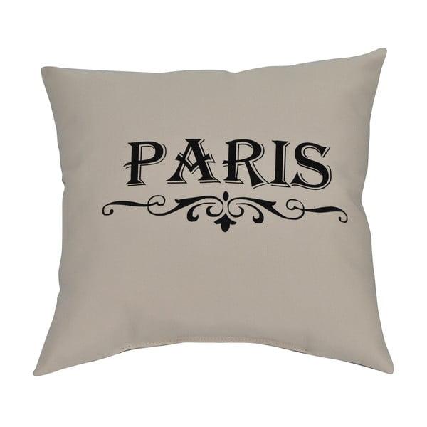 Polštář Paris 40x40 cm, krémový