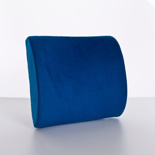 Polštář Visco Waist 26x40x9 cm, dark blue