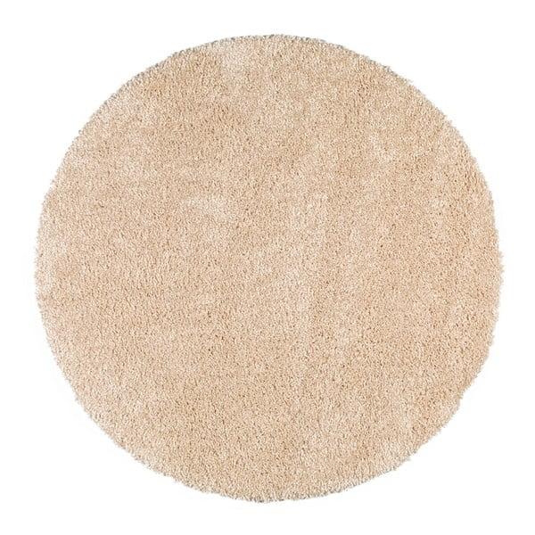 Biały okrągły dywan Universal Aqua, ø 100 cm
