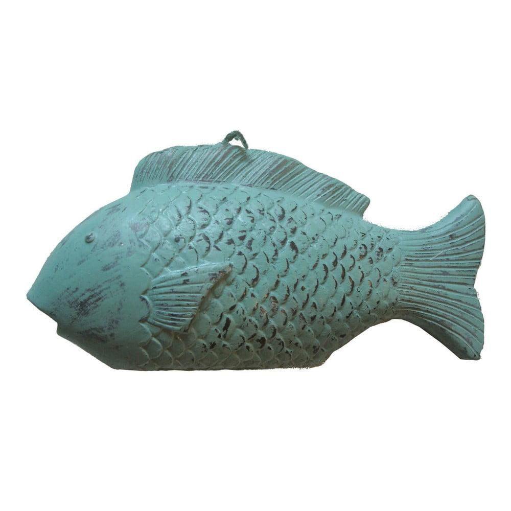 Zelená svíčka ve tvaru ryby Ego Dekor