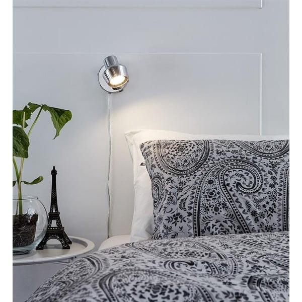 Nástěnné světlo ve stříbrné barvě Markslöjd Urn