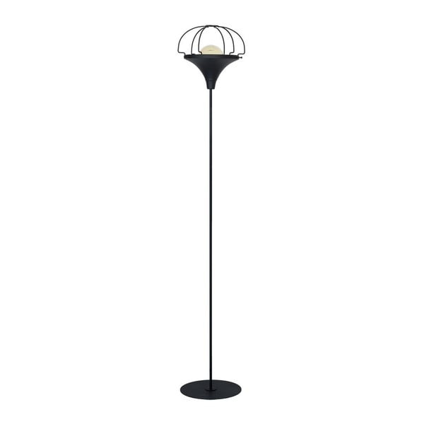 Černá volně stojící lampa Perseus Suro