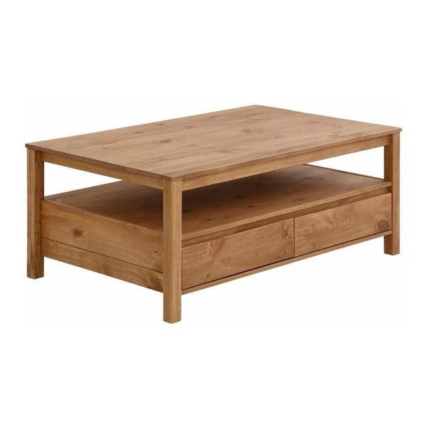 Konferenční stolek z masivního borovicového dřeva Støraa Salento