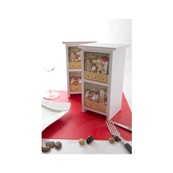 Set dvou dřevěných krabiček Fragance