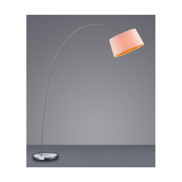 Stojací lampa Serie 4612, bílá/oranžová