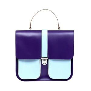 Kožená kabelka Onslow Purple/Blue