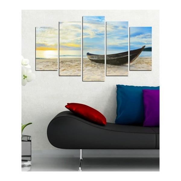 Viacdielny obraz 3D Art except, 102×60 cm