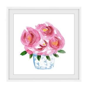 Obraz na plátně Marmont Hill Wild Roses, 41 x 41 cm
