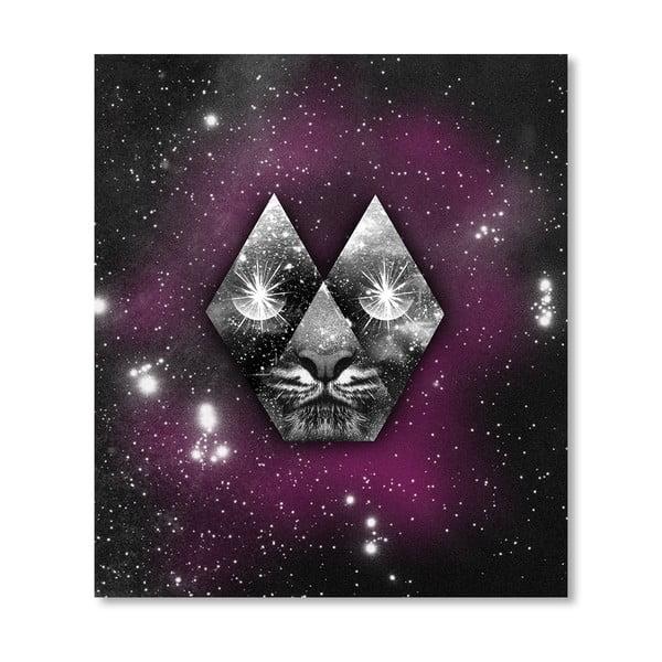 Autorský plakát Cosmic Tiger
