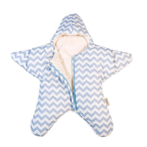Dětský spací vak Blue Star, vhodný i na léto, pro děti do 3 měsíců