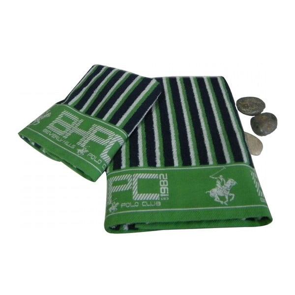 Sada 2ks ručníků BHPC Green, 50x100 cm