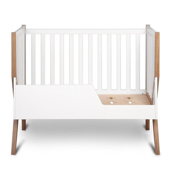 Łóżeczko dziecięce z litego drewna YappyKids Icon, 120x60 cm