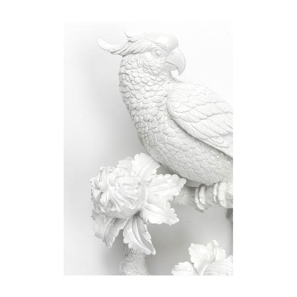 Decorațiune de perete Kare Design Flowers, alb