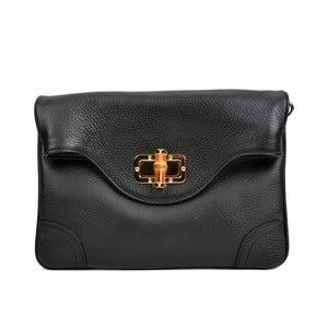 Černá kožená kabelka Isabella Rhea Alberto