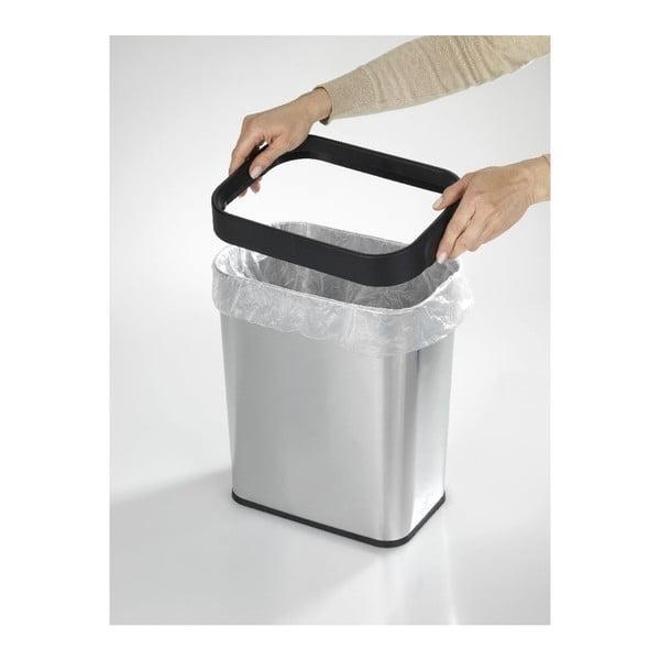 Hranatý odpadkový koš Wenko Rubbish, 12l
