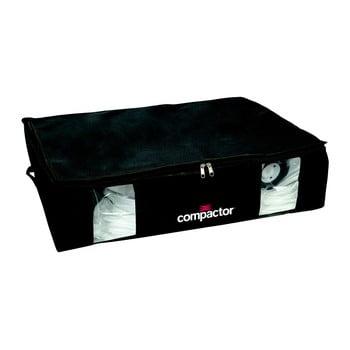 Cutie depozitare cu vacuum Compactor Black Edition, capacitate 145 l, negru de la Compactor