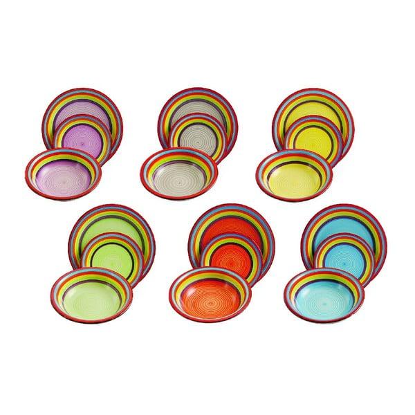 Sada talířů Sombrero, 18 ks