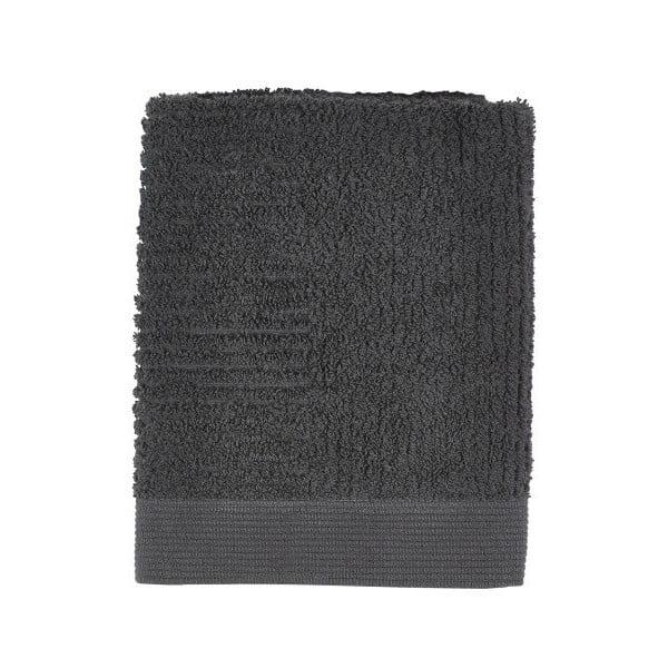 Černý ručník Zone Nova,50x70cm