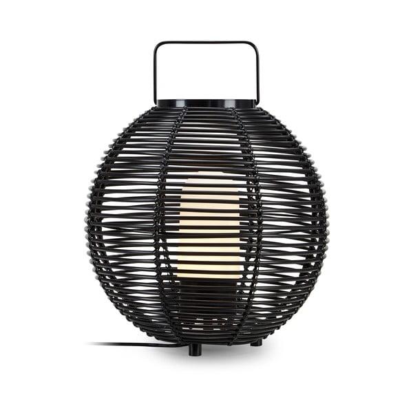 Czarna lampa stołowa Markslöjd Sage Pendant 1L