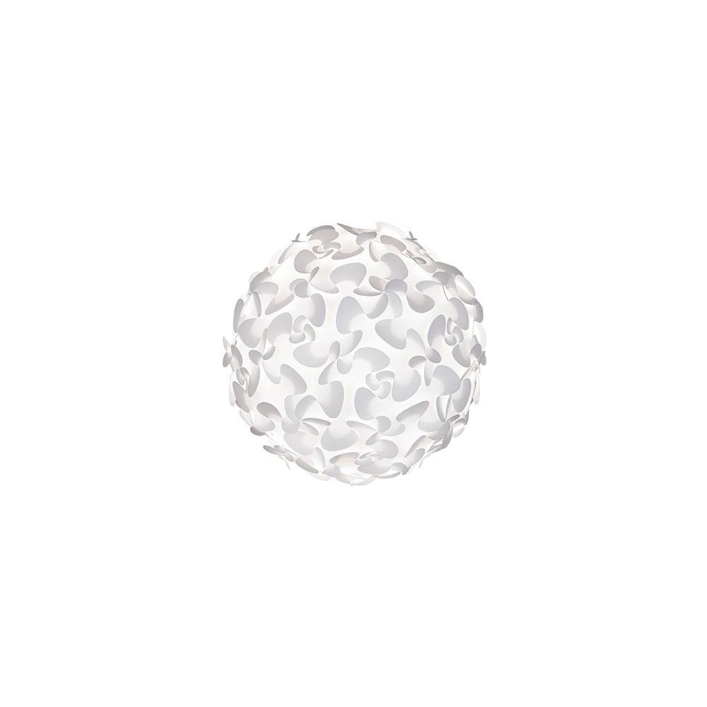 Bílé stropní stínidlo VITA Copenhagen Lora, ⌀45cm