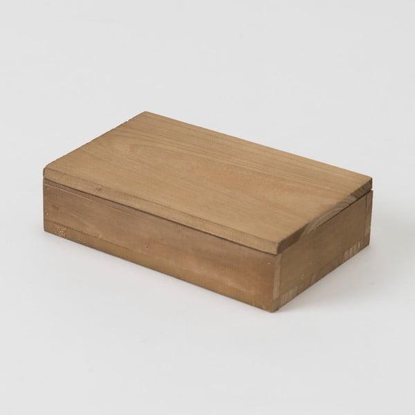 Dřevěný box Compactor Vintage Box, 14x9cm