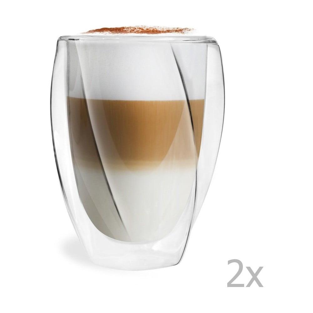 sada 2 dvojit ch sklenic vialli design latte 300 ml bonami. Black Bedroom Furniture Sets. Home Design Ideas