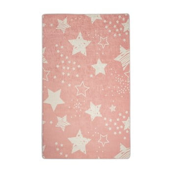 Covor copii Pink Stars 140 x 190 cm