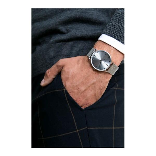 Unisex hodinky s páskem ve stříbrné barvě z nerezové oceli Frederic Graff Pantejo