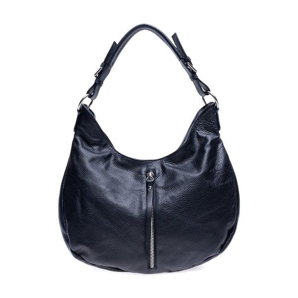 Černá kožená kabelka Roberta M Beatrice