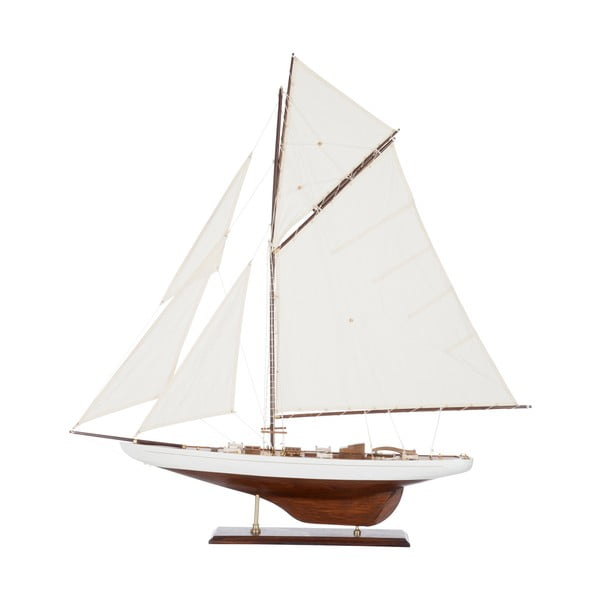 Objekt plachetnice Sail Boat White, 103 cm