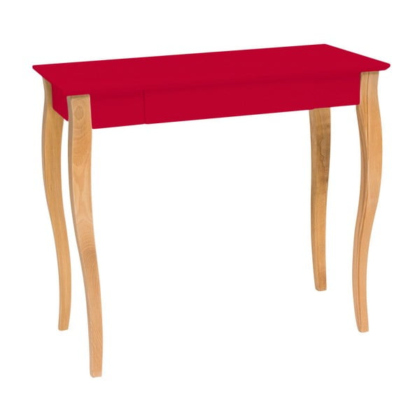 Birou Ragaba Lillo, lățime 85 cm, roșu
