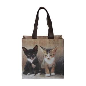Nákupní taška s motivem koťátek Esschert Design