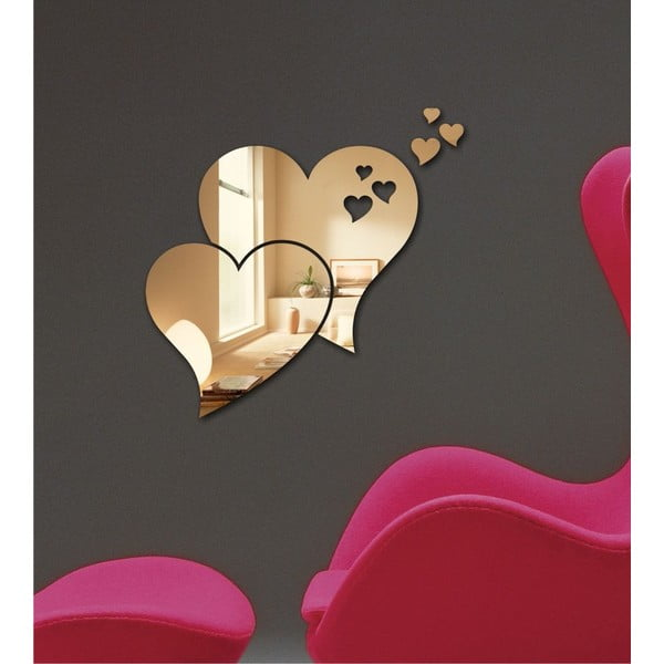Dekorativní zrcadlo Double Love