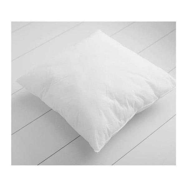 Biela výplň do vankúša s prímesou bavlny Minimalist Cushion Covers, 45 × 45 cm