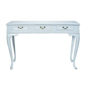 Konzolový stolek Genova White, 120x40x82 cm