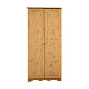 Șifonier din lemn de pin masiv cu 2 uși Støraa Amanda