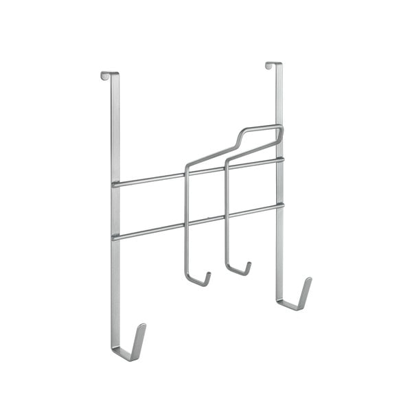 Iron ajtóra szerelhető vasalódeszka tartó, hosszúság 28 cm - Metaltex