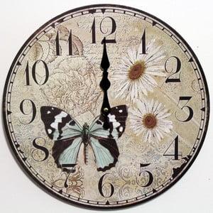 Vintage hodiny Motýl