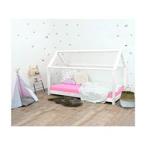 Bílá dětská postel ze smrkového dřeva Benlemi Tery, 80x200cm