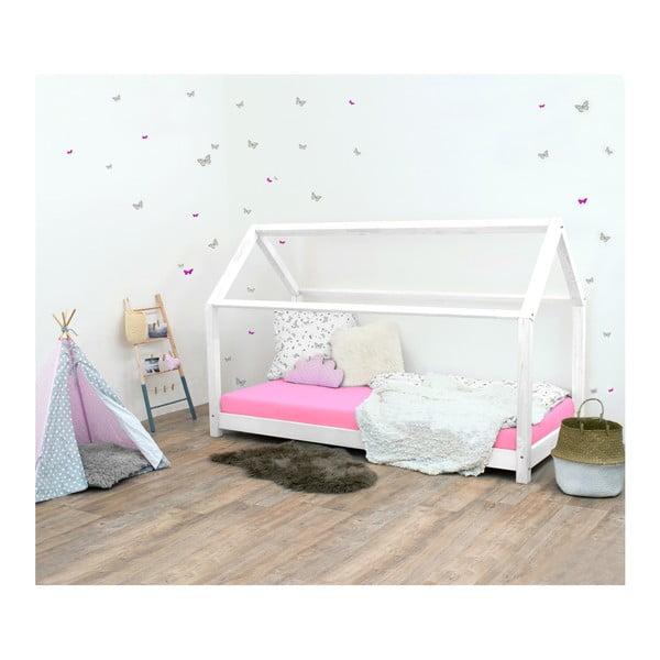 Bílá dětská postel ze smrkového dřeva Benlemi Tery, 120x200cm