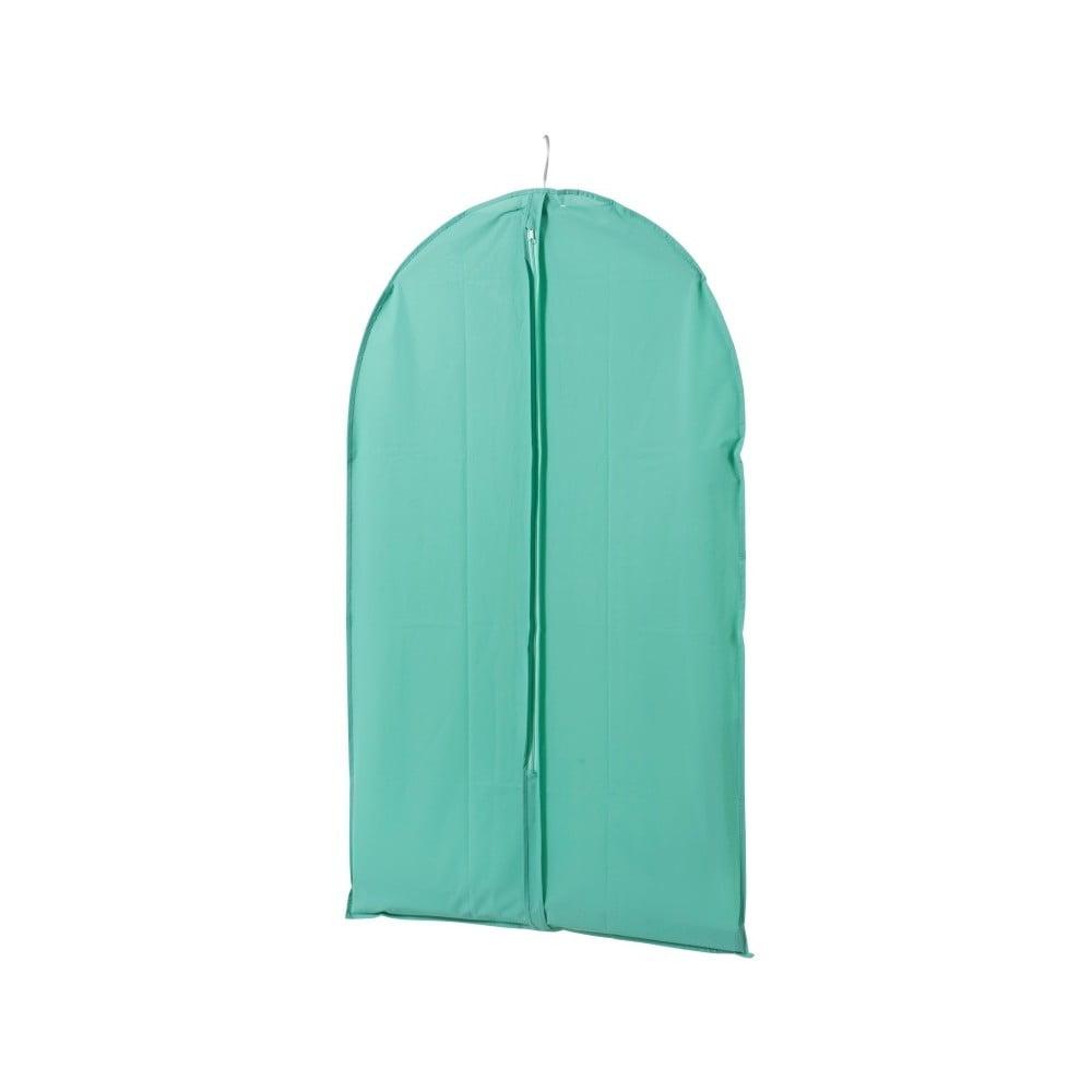 Zelený závěsný obal na šaty Compactor Pina, délka 100 cm