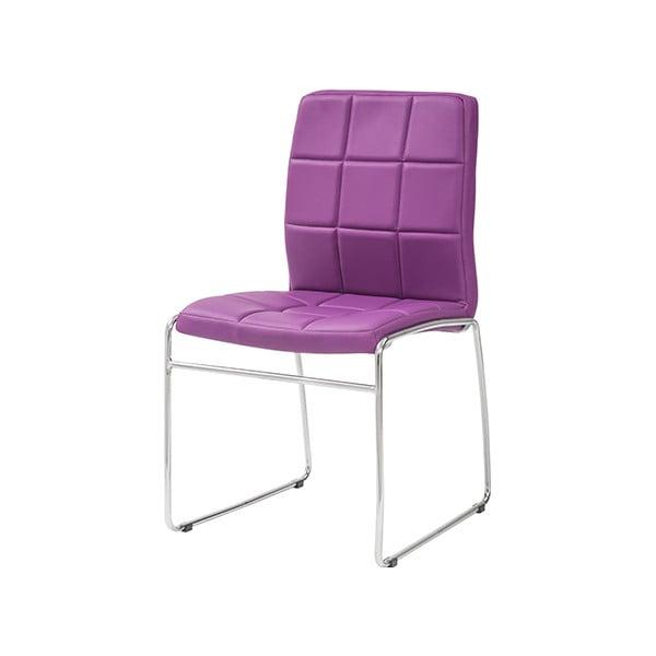 Jídelní židle Kid, fialová
