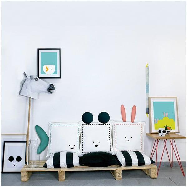 Polštář Mouse, 40x40 cm