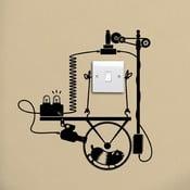 Samolepka Hamster Wheel Generator