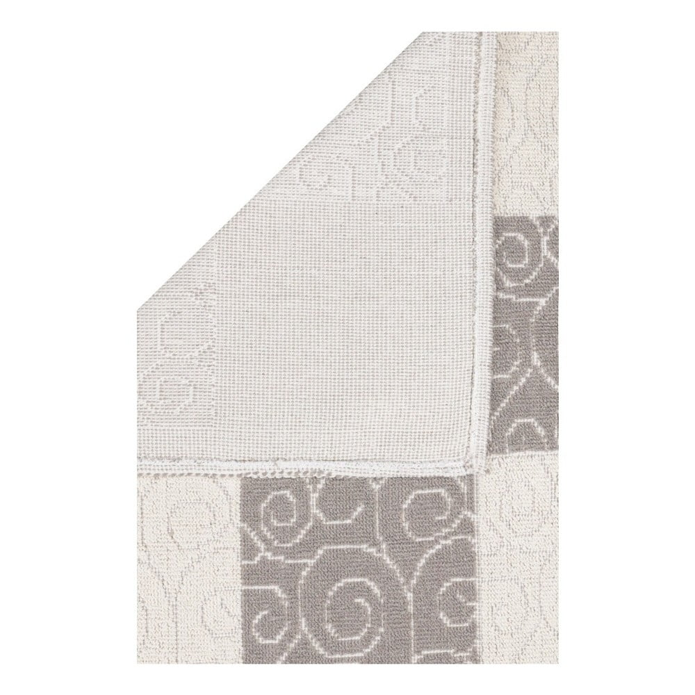 Béžovo-šedý běhoun s příměsí bavlny Patchwork Coffee eb67da5127